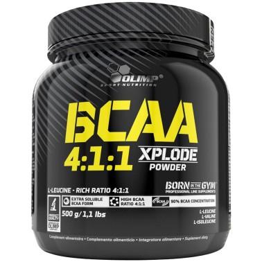 OLIMP BCAA 4:1:1 Xplode Powder 500 gr Aminoacidi Ramificati 411 in polvere in vendita su Nutribay.it