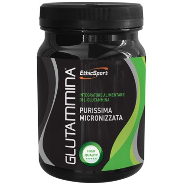 ETHIC SPORT Glutammina 300 gr Glutamina Kyowa Micronizzata - GLUTAMMINA in vendita su Nutribay.it