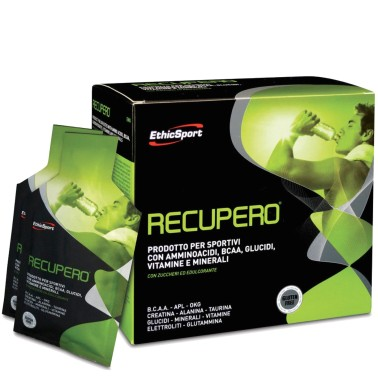 ETHIC SPORT Recupero 20 buste Aminoacidi Vitamine Minerali - POST WORKOUT COMPLETI in vendita su Nutribay.it