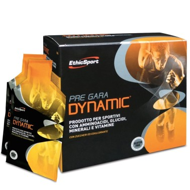 ETHIC SPORT Pre Gara Dynamic 20pz Energetico con Creatina Taurina Maltodestrine in vendita su Nutribay.it