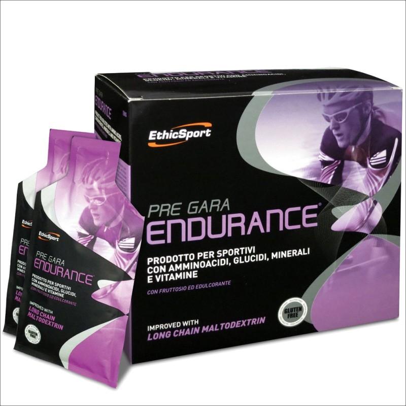 ETHIC SPORT Pre Gara Endurance Energetico con Maltodestrine Vitamine Aminoacidi - PRE ALLENAMENTO - in vendita su Nutribay.it