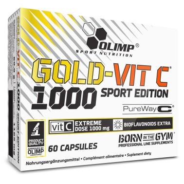 OLIMP Gold-VIT C 1000 Sports Edition 60 caps vitamina c con bioflavonoidi - VITAMINE in vendita su Nutribay.it