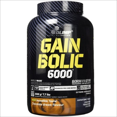 OLIMP Gain Bolic 6000 3,5 kg Mega Mass Gainer con Creatina e Vitamine in vendita su Nutribay.it