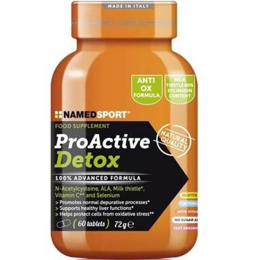 NAMED Sport ProActive Detox 60 cpr Disintossicante con Cardo Mariano e Acido Lipoico - BENESSERE-SALUTE - in vendita su Nutri...