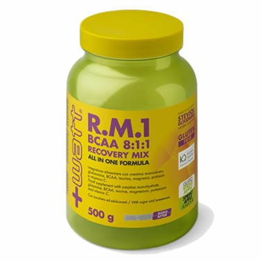 +WATT R.M.1 500 g gusto Mela - POST WORKOUT COMPLETI in vendita su Nutribay.it