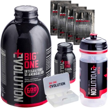 BIG ONE Evolution 600 + 50 Compresse Omaggio Aminoacidi Essenziali + 4 Alkal in vendita su Nutribay.it