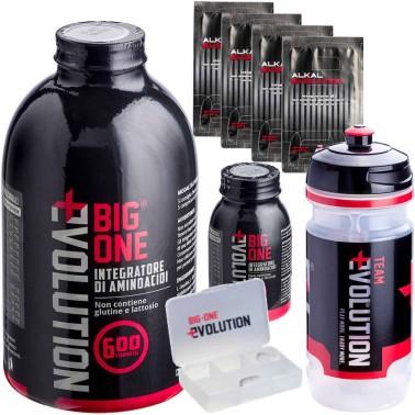 BIG ONE Evolution 600 + 50 Compresse Omaggio Aminoacidi Essenziali + 4 Alkal in vendita su Nutribay.it