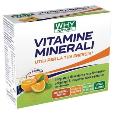 WHY SPORT Vitamine e minerali - privo di glutine ed olio di palma - Gusto Arancia - 10 bustine da 10 g cad. in vendita su Nut...