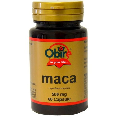 OBIRE MACA 60 caps Tonico Ginseng Peruviano tonico per Libido in vendita su Nutribay.it
