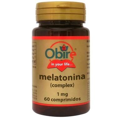 OBIRE MELATONINA Complex 60 cpr Valeriana Melissa Tiglio Passiflora - RIMEDI NATURALI in vendita su Nutribay.it