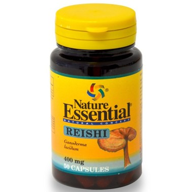 NATURE ESSENTIAL REISHI Ganoderma 50 caps Integratore Difese Immunitarie in vendita su Nutribay.it