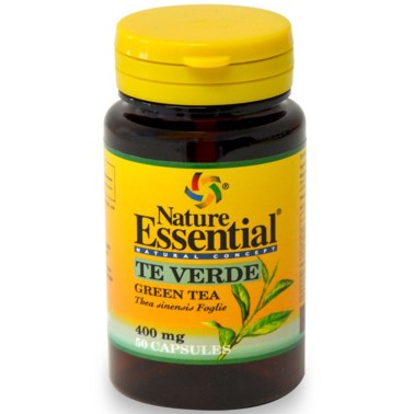 NATURE ESSENTIAL TE VERDE 400 Mg - 50 caps Green Tea - RIMEDI NATURALI in vendita su Nutribay.it