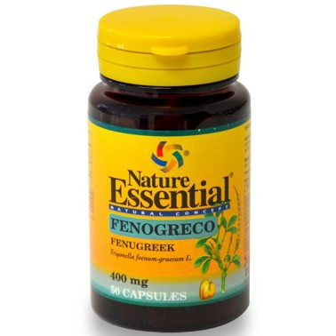 NATURE ESSENTIAL FIENO GRECO Fenogreco - 400 Mg - 50 Caps Tonico in vendita su Nutribay.it