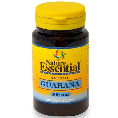 NATURE ESSENTIAL GUARANA 50 caps Integratore Energetico anti Fatica e Stanchezza - RIMEDI NATURALI in vendita su Nutribay.it