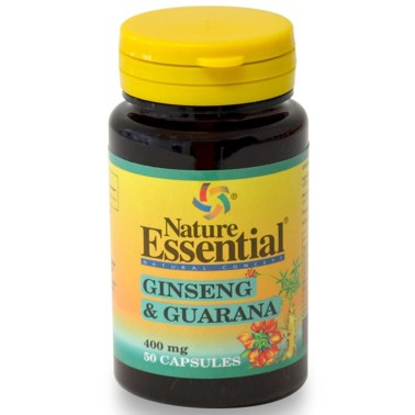 NATURE ESSENTIAL GINSENG & GUARANA 50 Caps Tonico Stanchezza Fisica e Mentale in vendita su Nutribay.it