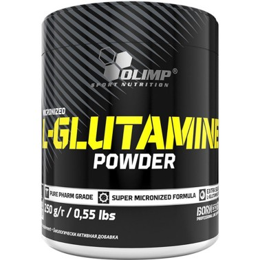 OLIMP GLUTAMINE POWDER 250 gr. Glutammina Micronizzata in vendita su Nutribay.it