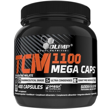 OLIMP TCM Mega Caps 400 caps Tricreatina Malato - CREATINA - in vendita su Nutribay.it