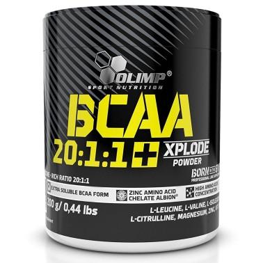 Olimp BCAA 20:1:1+ Xplode Powder 250 gr Aminoacidi con zinco e b6