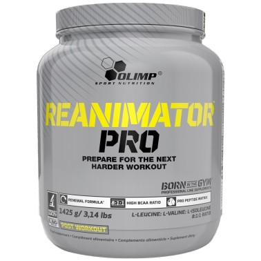 OLIMP Reanimator Pro 1,425 kg Proteine BCAA 8:1:1 creatina e taurina - POST WORKOUT COMPLETI in vendita su Nutribay.it