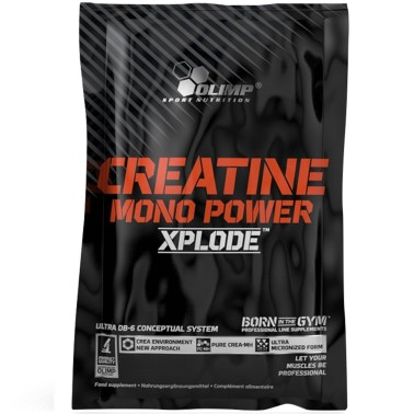 OLIMP CREATINE MONO POWER XPLODE 250 g creatina con vitamine D e B6 in vendita su Nutribay.it