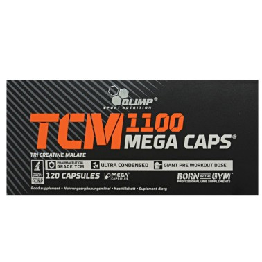 OLIMP TCM 1100 Mega Caps 120 caps Tricreatina Malato in vendita su Nutribay.it