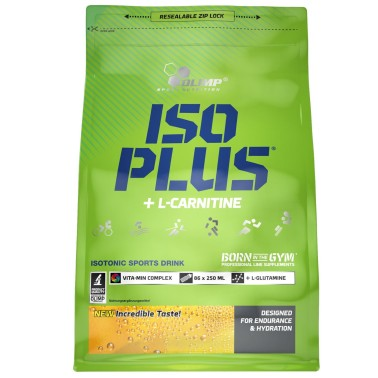 OLIMP Iso Plus + L-Carnitine 1505 gr Sali Minerali con Carnitina e Vitamine - SALI MINERALI in vendita su Nutribay.it