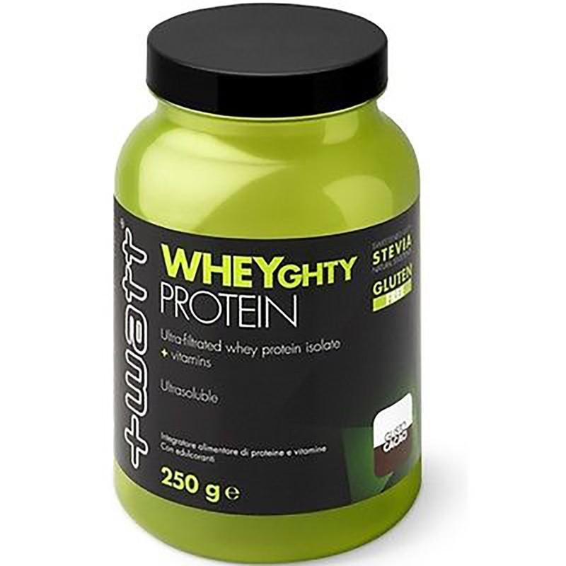+Watt Wheyghty proteins 250g vari gusti proteine whey isolate con vitamine in vendita su Nutribay.it