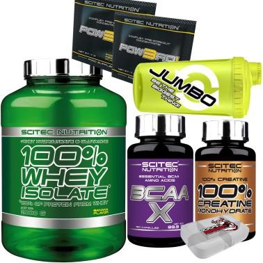 SCITEC 100% Whey Isolate 2000gr 2kg Proteine Siero +120 AMINOACIDI + CREATINA ! - PROTEINE in vendita su Nutribay.it