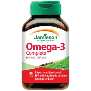 JAMIESON Omega 3 Complete 80 perle - OMEGA 3 in vendita su Nutribay.it