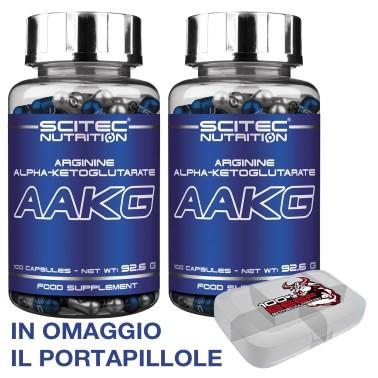 SCITEC NUTRITION Aakg 200 cps Arginina akg Aumento Erezione con Ossido Nitrico in vendita su Nutribay.it