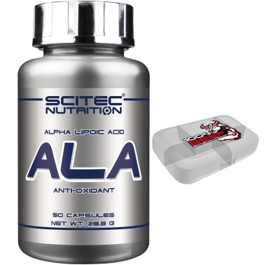SCITEC NUTRITION ALA ACIDO ALFA LIPOICO POTENTE ANTIOSSIDANTE ANTI OSSIDANTE in vendita su Nutribay.it