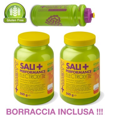 +WATT SALI+ PERFORMANCE 1kg 2x500g sali minerali POTASSIO MAGNESIO MALTODESTRINE in vendita su Nutribay.it
