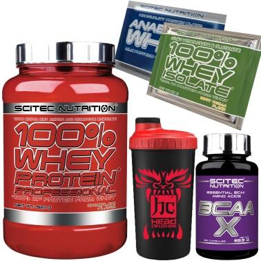 SCITEC 100% Whey Protein Professional Siero 920 gr +120 Aminoacidi Ramificati in vendita su Nutribay.it