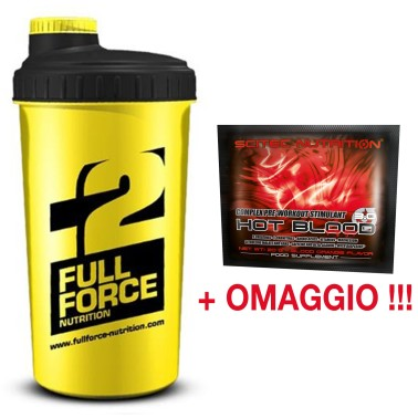 FULL FORCE SHAKER PALESTRA AMINOACIDI RAMIFICATI BCAA CREATINA PROTEINE WHEY in vendita su Nutribay.it