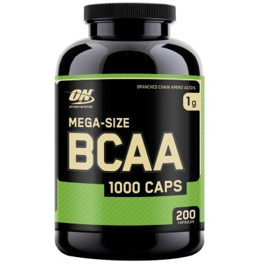 On Optimum Nutriton Bcaa 1000 Caps 200 cps. Aminoacidi Ramificati