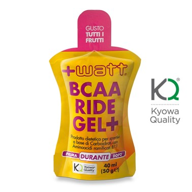 +WATT BCAA Ride Gel+ Ciclismo con Aminoacidi Ramificati 8:1:1 811 + Vitargo in vendita su Nutribay.it