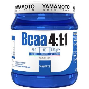 Bcaa 4:1:1 di YAMAMOTO NUTRITION con Vitamine B1 e B6 - 500 cpr - 100 dosi in vendita su Nutribay.it
