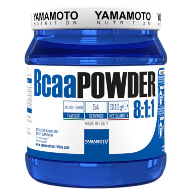Bcaa POWDER 8:1:1 di YAMAMOTO NUTRITION - 300 gr - AMINOACIDI BCAA 8.1.1 in vendita su Nutribay.it