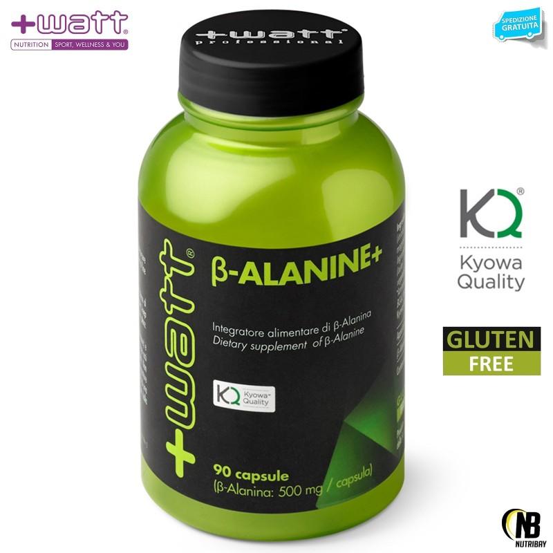 +WATT Beta Alanina 90c. Kyowa Alanine Riduce Acido Lattico aumenta il Recupero in vendita su Nutribay.it