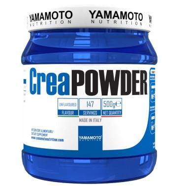 Crea POWDER Creapure Quality di YAMAMOTO NUTRITION - 500 gr - CREATINA - in vendita su Nutribay.it