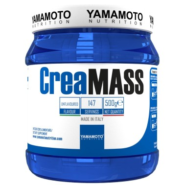 CreaMASS di YAMAMOTO NUTRITION - 500 gr - CREATINA - in vendita su Nutribay.it