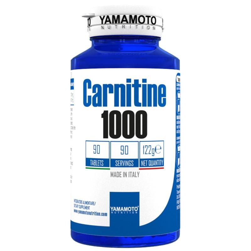 Carnitine 1000 di YAMAMOTO NUTRITION - 90 cpr - 90 dosi in vendita su Nutribay.it