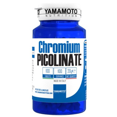 Chromium PICOLINATE di YAMAMOTO NUTRITION - 100 cpr - 100 dosi in vendita su Nutribay.it