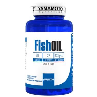 Fish OIL di YAMAMOTO NUTRITION - 90 softgel - 22 dosi - OMEGA 3 in vendita su Nutribay.it