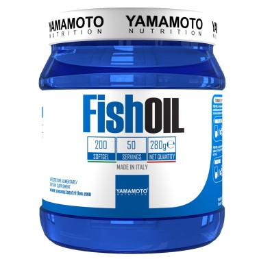 Fish OIL di YAMAMOTO NUTRITION - 200 softgel omega 3 OMEGA 3 in vendita su Nutribay.it