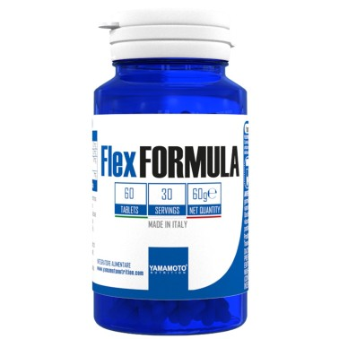 Flex FORMULA di YAMAMOTO NUTRITION - 60 cpr - 30 dosi in vendita su Nutribay.it