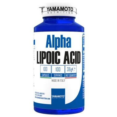 Alpha LIPOIC ACID di YAMAMOTO NUTRITION - 100 caps - 100 dosi - BRUCIA GRASSI TERMOGENICI in vendita su Nutribay.it