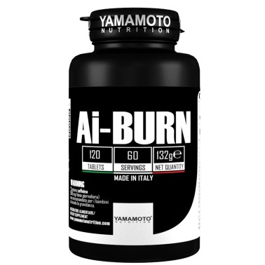 Ai-BURN di YAMAMOTO NUTRITION - 120 cpr - 60 dosi - BRUCIA GRASSI TERMOGENICI in vendita su Nutribay.it