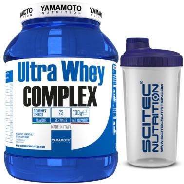 Ultra Whey COMPLEX di YAMAMOTO NUTRITION - 700 gr - 23 dosi - PROTEINE - in vendita su Nutribay.it