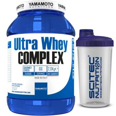 Ultra Whey COMPLEX di YAMAMOTO NUTRITION 2000 gr - 66 dosi - PROTEINE - in vendita su Nutribay.it